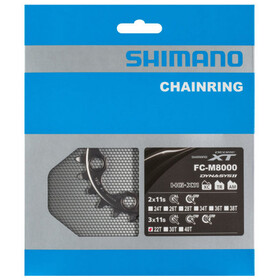 Shimano Deore XT FC-M8000 Kettenblatt für 40-32-22 Zähne 11-fach BB schwarz
